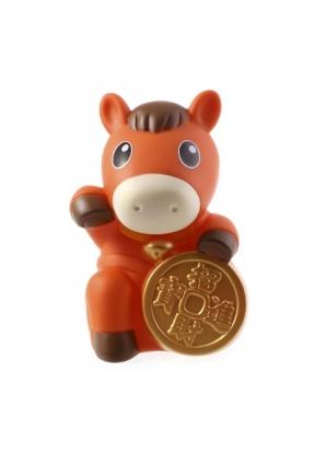 Orange Realfun Cute Horse Shaped PC..