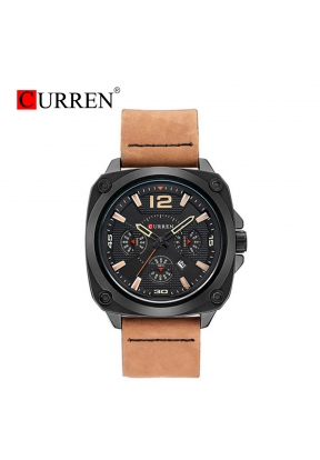 Curren 8260 Waterproof Men's Leathe..