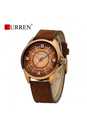 CURREN 8155 Luxury Brand Genuine Le..