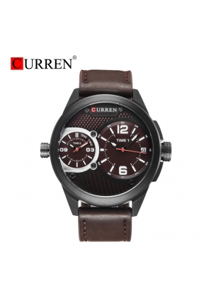 Curren 8249 Waterproof Luxury Leath..