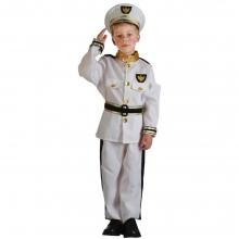 Navy Children's Costume For Kids Ha..