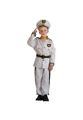 Navy Children's Costume For Kids Ha..