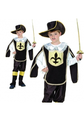 Musketter Boy Children's Costume Fo..