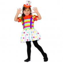 Clown Children's Costume For Kids H..