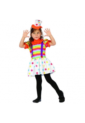 Clown Children's Costume For Kids H..