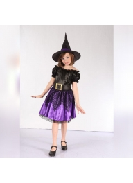 Witch Children's Costume For Kids H..