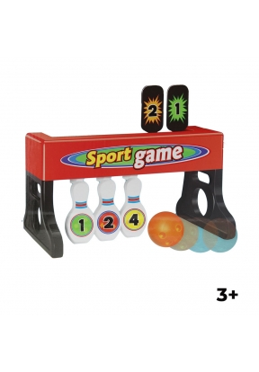 2  In 1 Dual Action Bowling & Toss ..