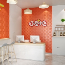 3D Wooden Mosaic Pure Color Wall St..