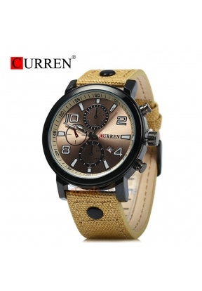 CURREN 8199Top Luxury Leather Sport..