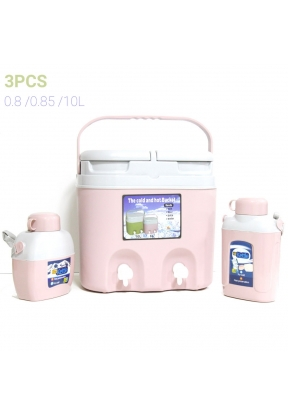 The cold and hot bucket set 3PCS 10..