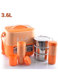Potluck JN360 Insulated Food Flask ..