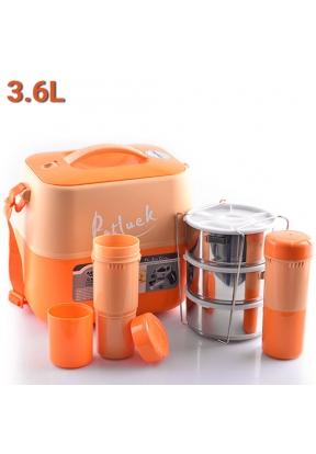 Potluck JN360 Insulated Food Flask ..