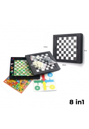 8 in1 Magnetic Game For 2 To 4 Pla..