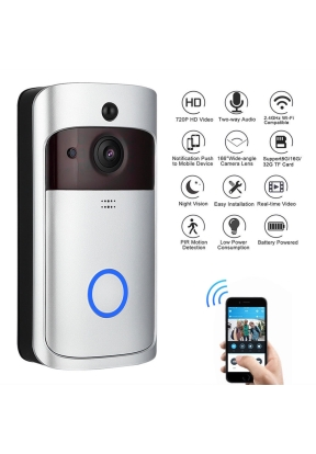 Smart Doorbell 720P HD WiFi Video D..
