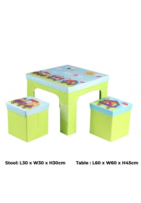 Children Kids Square Folding Cartoo..