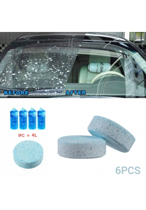 Effervescent Spray Windshield Glass..