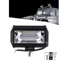Dual-Row LED Work Light Bar 72W Dri..