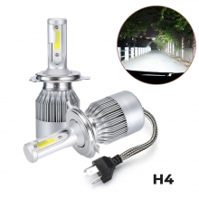 C6 Pair H4 LED Headlight Wa..