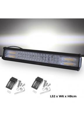 288W LED Light Bar Strip White & Ye..