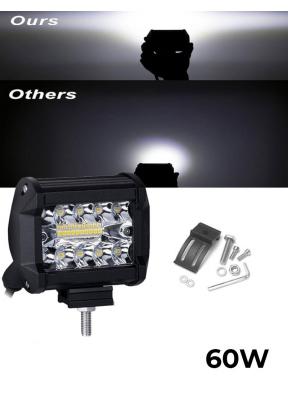 20-LED Waterproof Work Light 60W Wh..