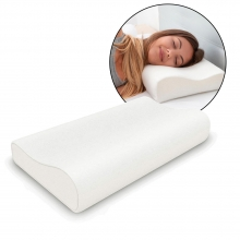 Comfort Memory Pillow- Soft Foam Sh..