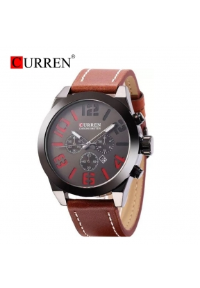 Curren 8198 Waterproof Men's Leathe..