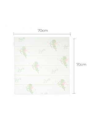 Plank Pattern PE Foam Self-Adhesive..