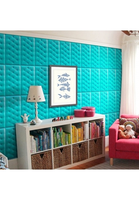 PE Foam 3D Wall Sticker Tile Patter..