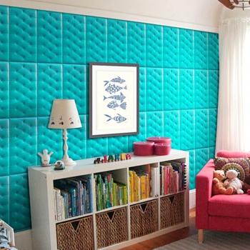 PE Foam 3D Wall Sticker Tile Patter..