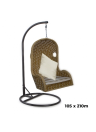 Outdoor Patio Balcony Swing Chair w..