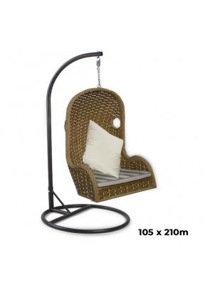 Outdoor Patio Balcony Swing Chair w..