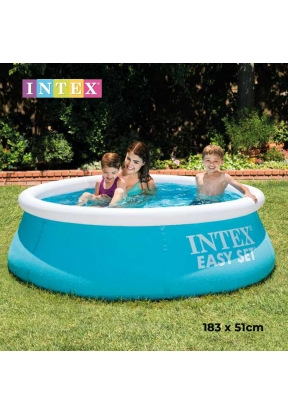 Intex 28101 Easy Set Inflatable Rou..