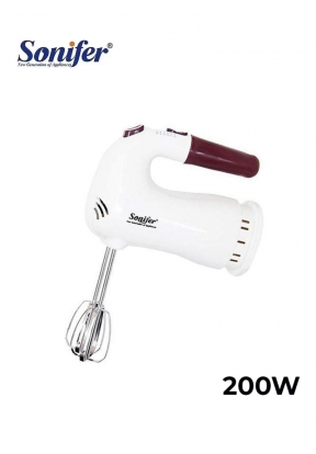 Sonifer SF-7001 Hand Mixer 200W 5 S..