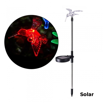 Solar Powered Color-Changing LED Hu..