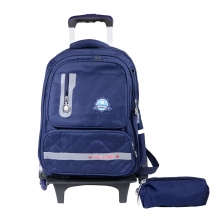 Rolling Backpack Trolley School Bag..