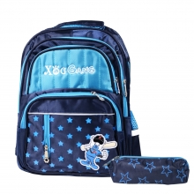 Baseball Bear School Bag Backpack (..