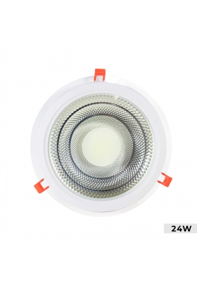 24cm Recessed 24W LED Panel Ceiling..