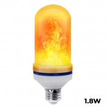 1.8W LED Flame Effect Light Bulb E2..