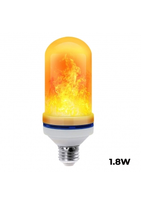 1.8W LED Flame Effect Light Bulb E2..