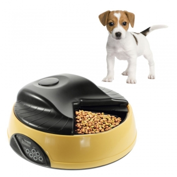 4-Meal Automatic Pet Feeder w/ LCD ..