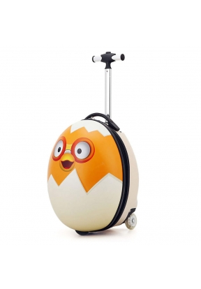 Chicken Egg Travel Suitcase with 2 ..