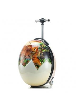Dinosaur Egg Travel Suitcase with 2..