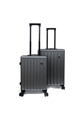 Zipperless Aluminum Frame Suitcase ..