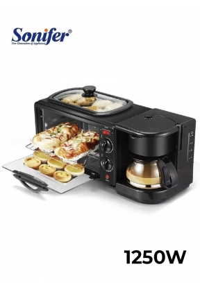Sonifer SF-4004 3 in 1 Breakfast Ma..