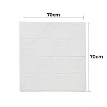 Traditional Style White Tile Patter..