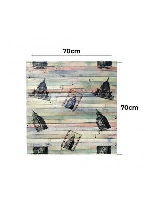 Worn Wood Sketch Image Surface Patt..
