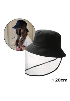 Unisex Transparent Panel Face Shiel..