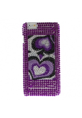 Rhinestone Loving Heart PC Crystal ..