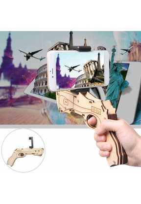 Bluetooth Connection Wooden AR Gun ..