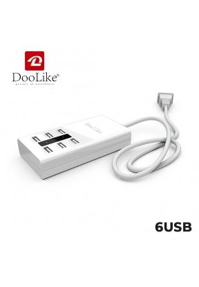 Doolike YC-CDA5 6 Ports USB Desktop..